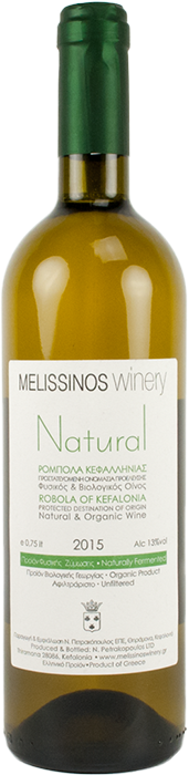 Robola Natural 2017 - Melissinos WInery