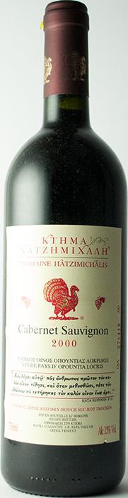 Cabernet Sauvignon 2000 - Domaine Hatzimichalis