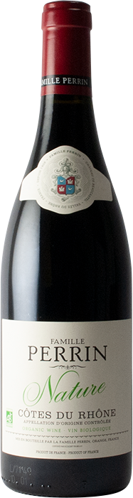 Cotes du Rhone Nature 2018 Red - Famille Perrin