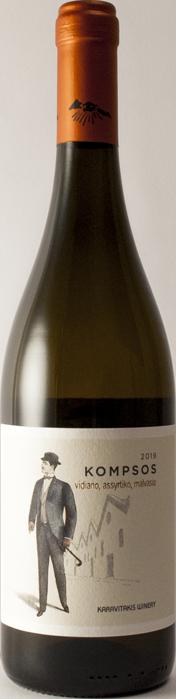 5 + 1 Kompsos White - Karavitakis Winery