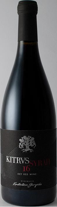 Syrah 2016 - Kitrvs Winery
