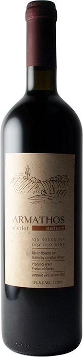 Armathos Merlot Nature 2012 - Domaine G. Loulis