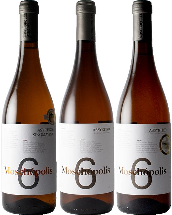Vertical Triplet Moschopolis 6 2016, 2017 & 2018 - Moschopolis Winery