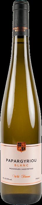 Blanc Μοσχούδι Ασύρτικο Wild Ferment 2020 - Κτήμα Παπαργυρίου