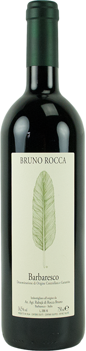 Barbaresco 2018 - Bruno Rocca