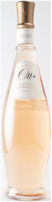 Bandol Rose 2020 - Domaines Ott Château Romassan