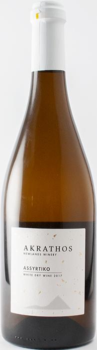 Ασύρτικο 2017 - Akrathos Newlands Winery