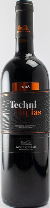 Techni Alypias Red 2018 - Wine Art Estate
