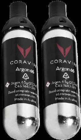 2x Coravin Capsules - Ανταλλακτικές αμπούλες